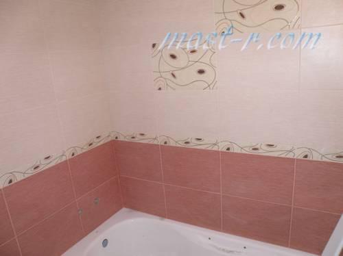образец укладки плитки в ванной