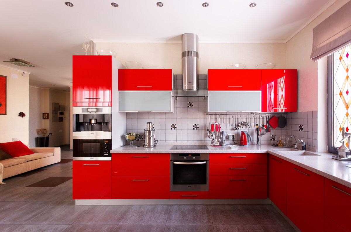 Дизайн проект кухня и гостиная