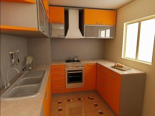 Дизайн маленькой кухни 6м