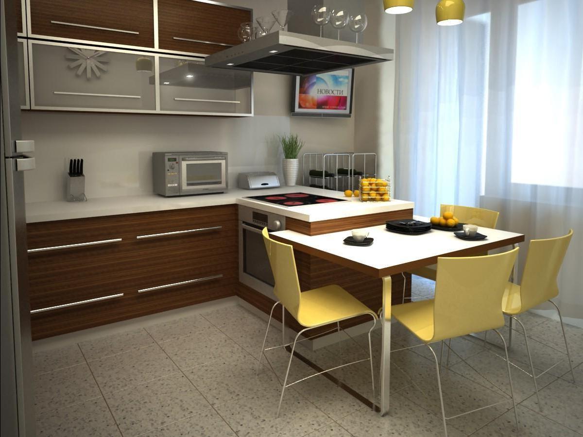 Кухня 14 кв метров дизайн
